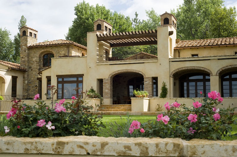 Projects - Tuscan Farmhouse in Greenwood Village - Exterior